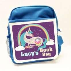Personalised Childrens Rucksack Blue