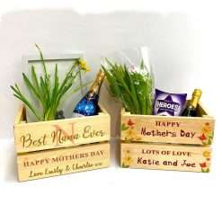Personalised Mothers Day Crates