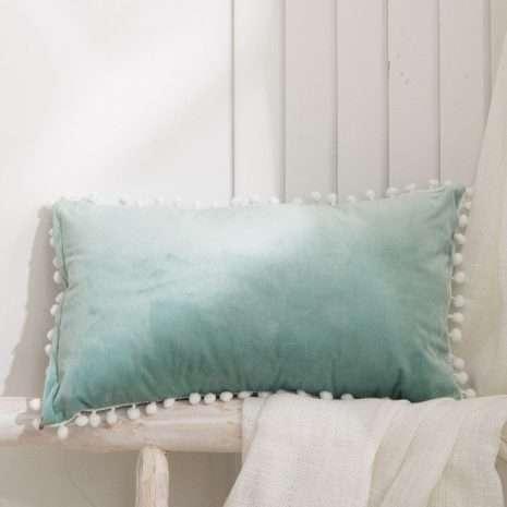 Luxury Cushion Mint Green