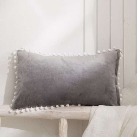 Luxury Cushion Silver