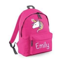 Personalised Kid Back Pack Bag